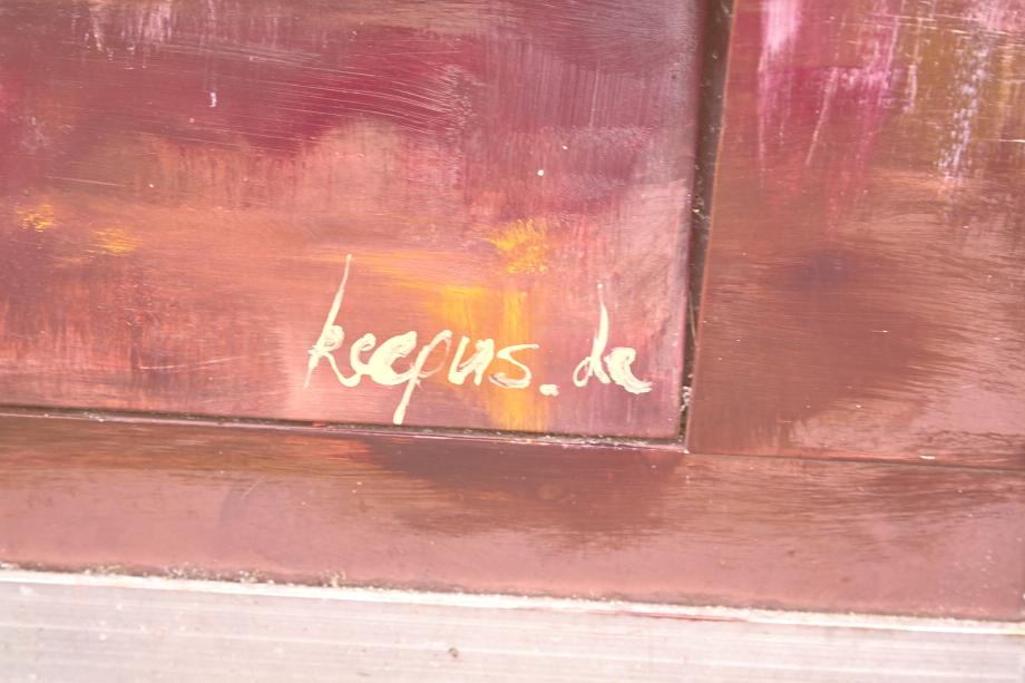 Balinger Streetart: Kunstkasten am Zollernschloss