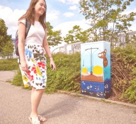 Balinger Streetart: Junge Kunst