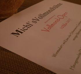 Vollmond Open: Kulinarik trifft Kunst