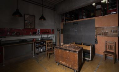 Blick in die Werkstatt