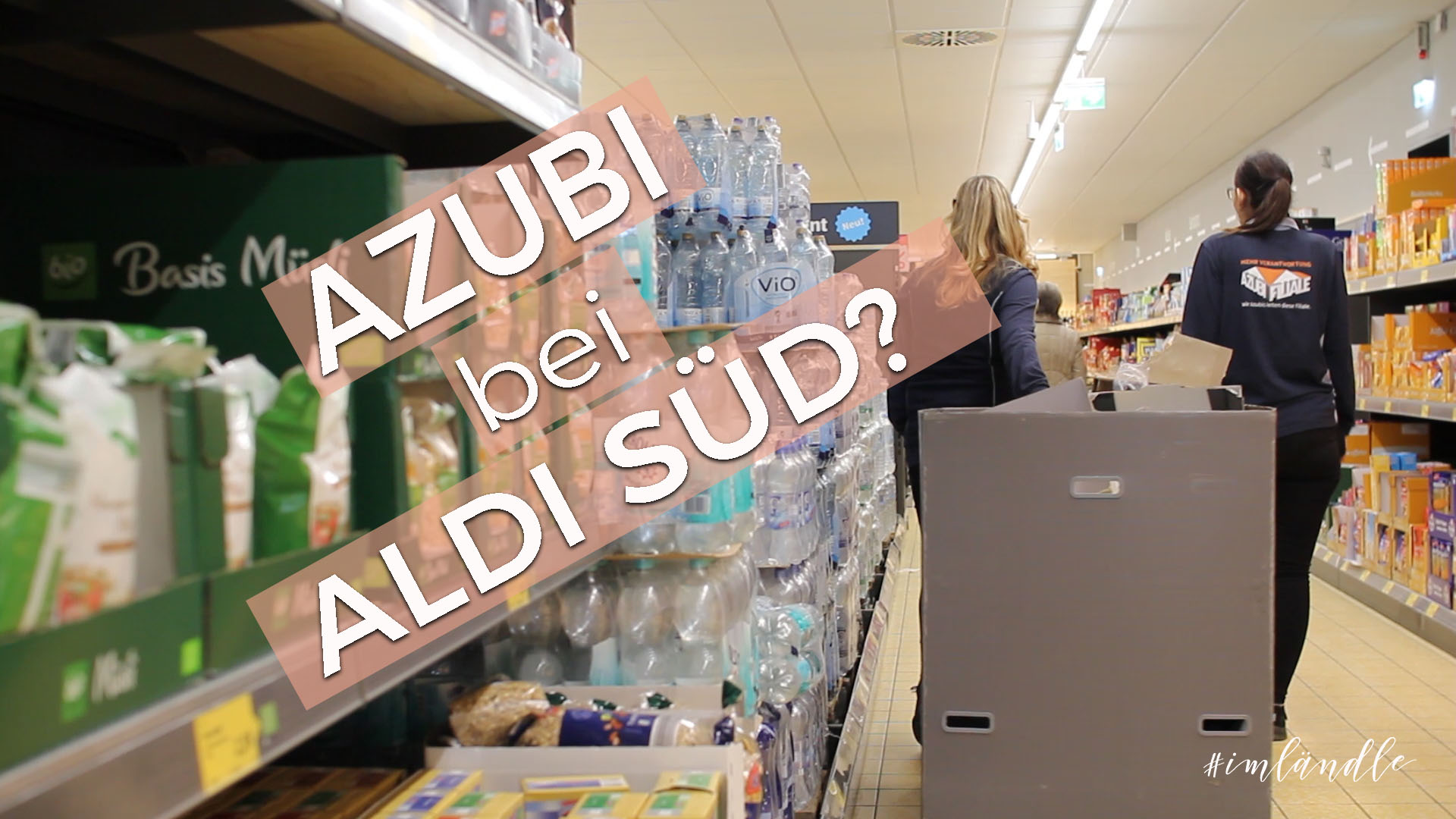 Azubi bei Aldi