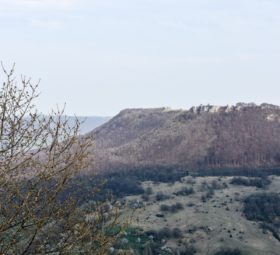 Die Burg Teck und der Teckberg