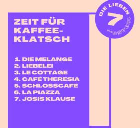 7 Cafés #imländle, die jeder kennen sollte