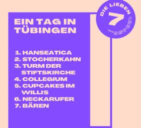 7 Tipps für einen Tag in Tübingen