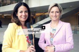 Ein Tag mit Wirtschaftsministerin Dr. Nicole Hoffmeister-Kraut