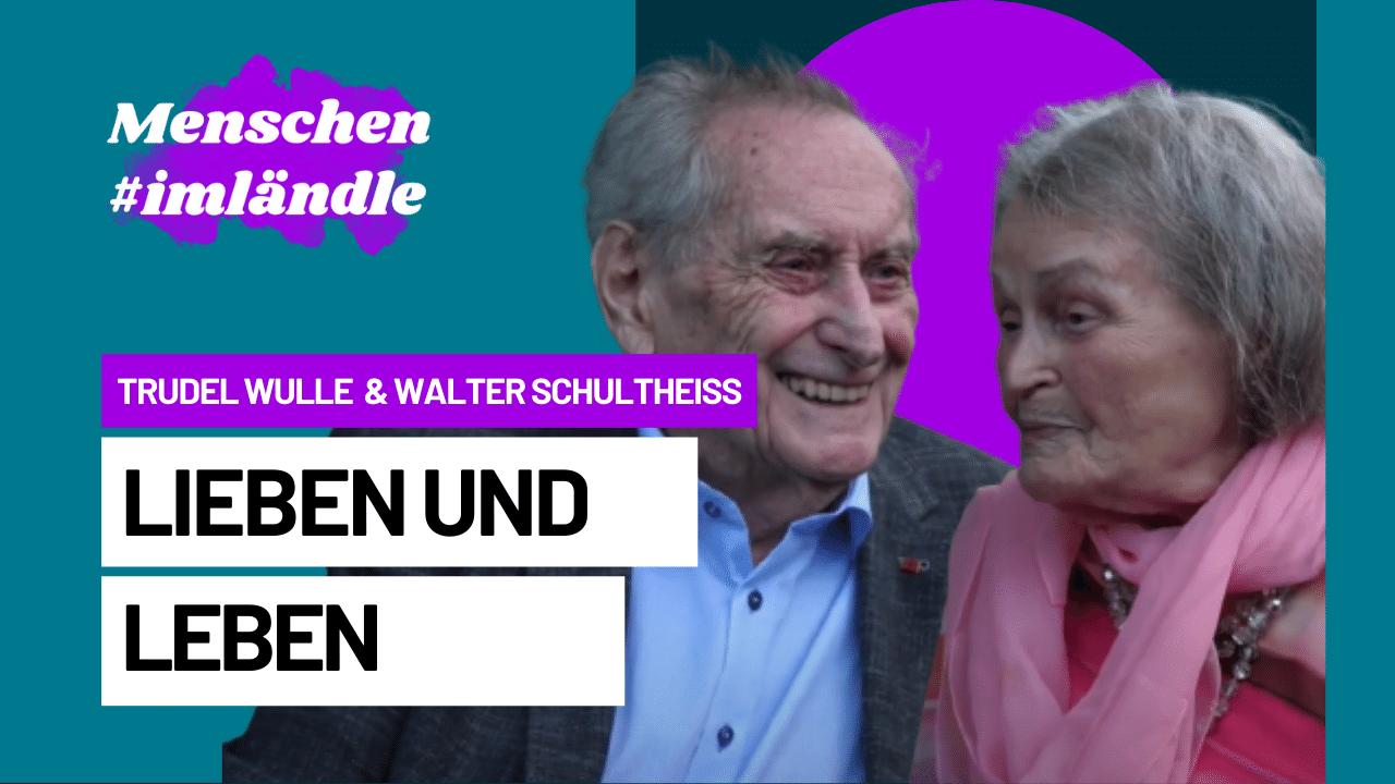 Trudel Wulle und Walter Schultheiß