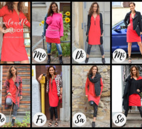 Lady in Red. 7 Tage – 7 Outfits vom Label29