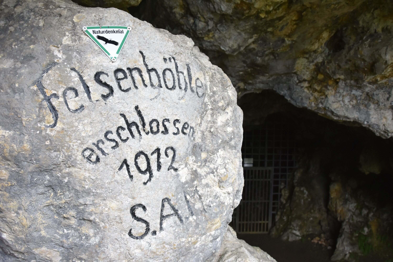 Ausflugstipp: die Felsenhöhle bei Mühlheim