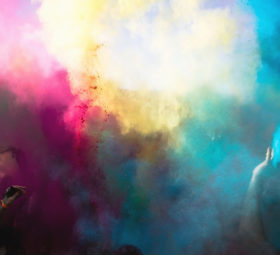 Farbexplosion – Holifestival in Horb