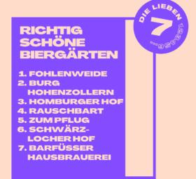 Sieben richtig schöne Biergärten #imländle
