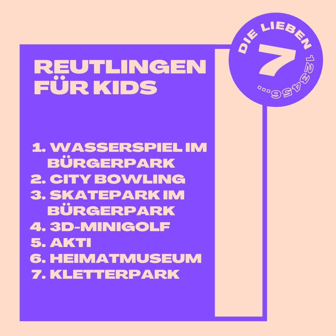 Sieben Ausflugsziele in Reutlingen, die du mit Kindern besuchen kannst