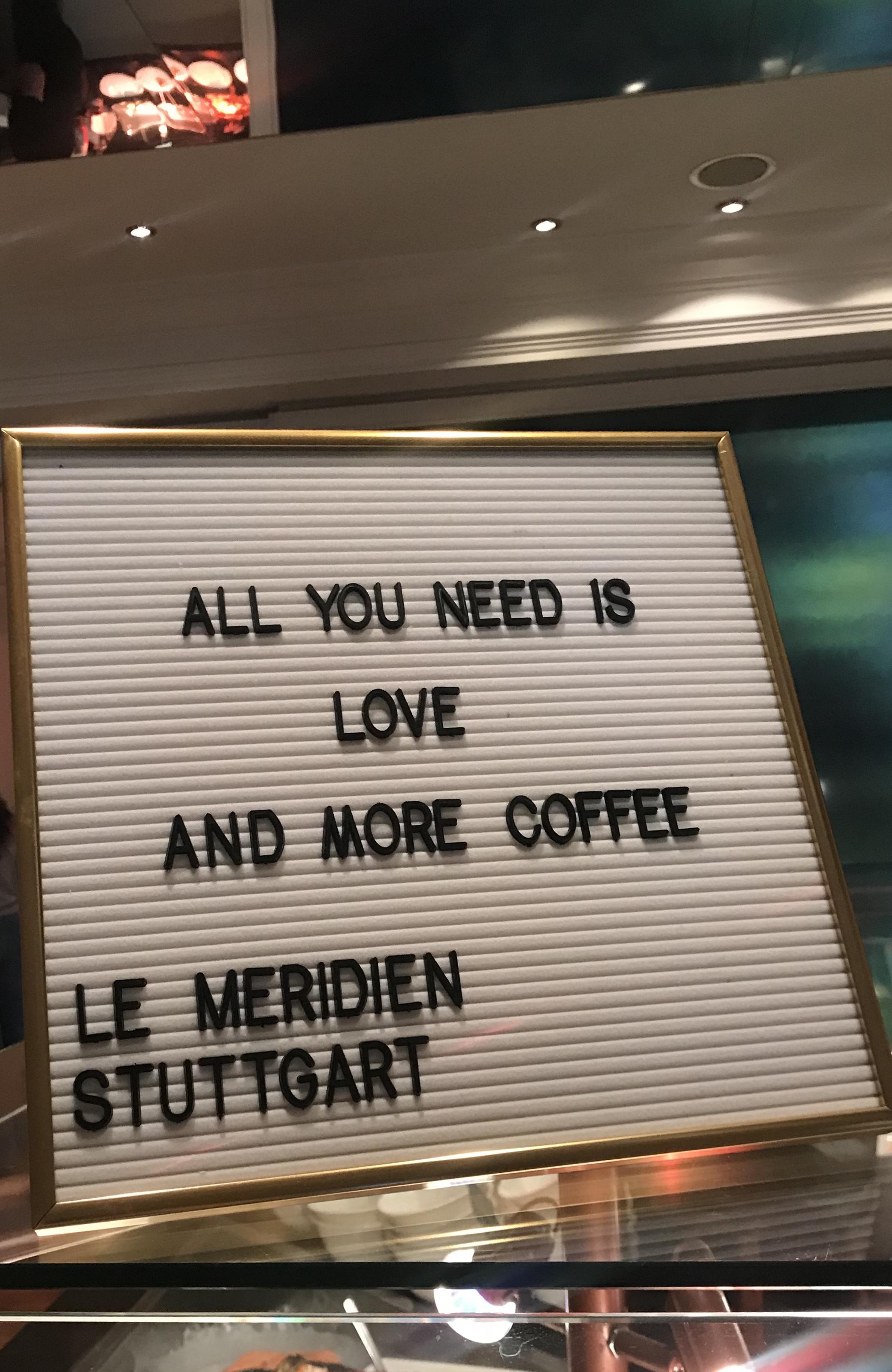 Das Hotel Le Méridien in Stuttgart