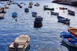 Hafen La Gomera
