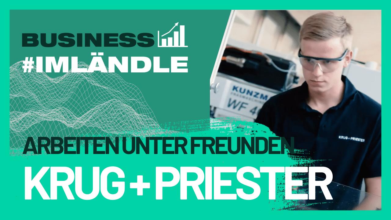 Jobs #imländle Krug + Priester