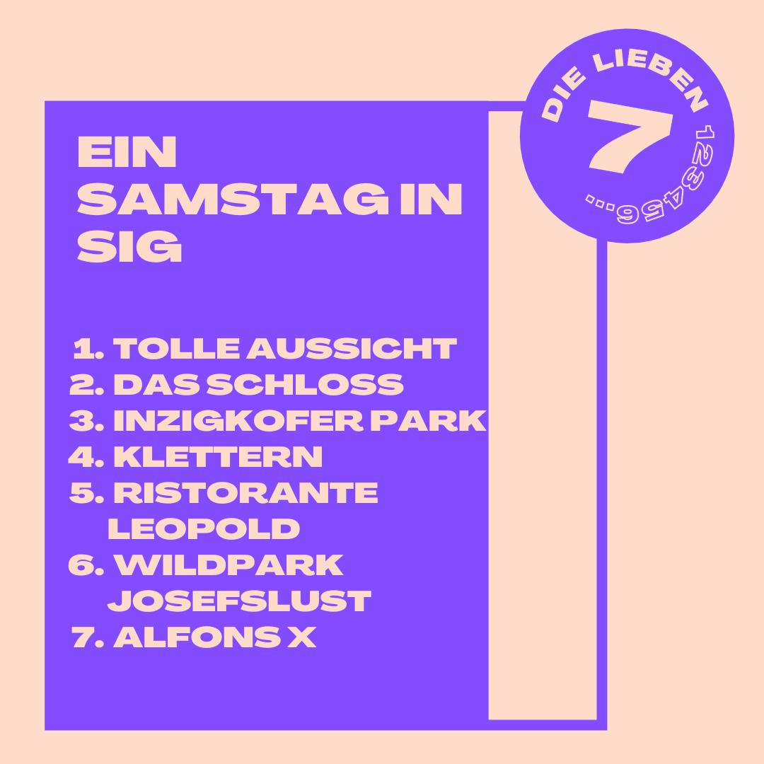 Sieben Ideen, um einen Samstag in Sigmaringen zu genießen