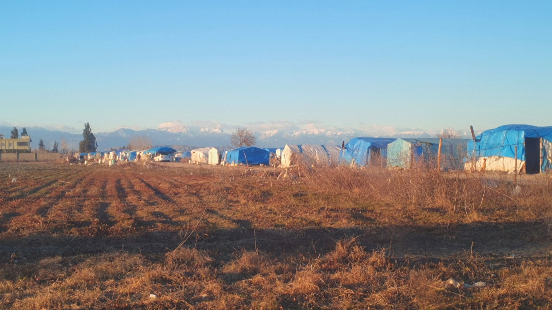 syrische Flüchtlingscamps