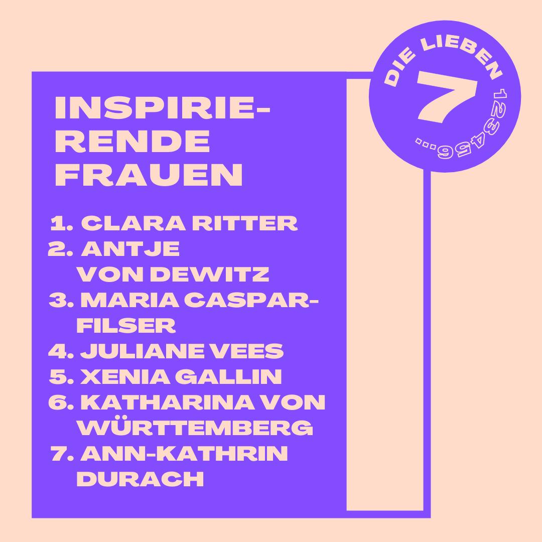 Sieben inspirierende Frauen aus dem Ländle