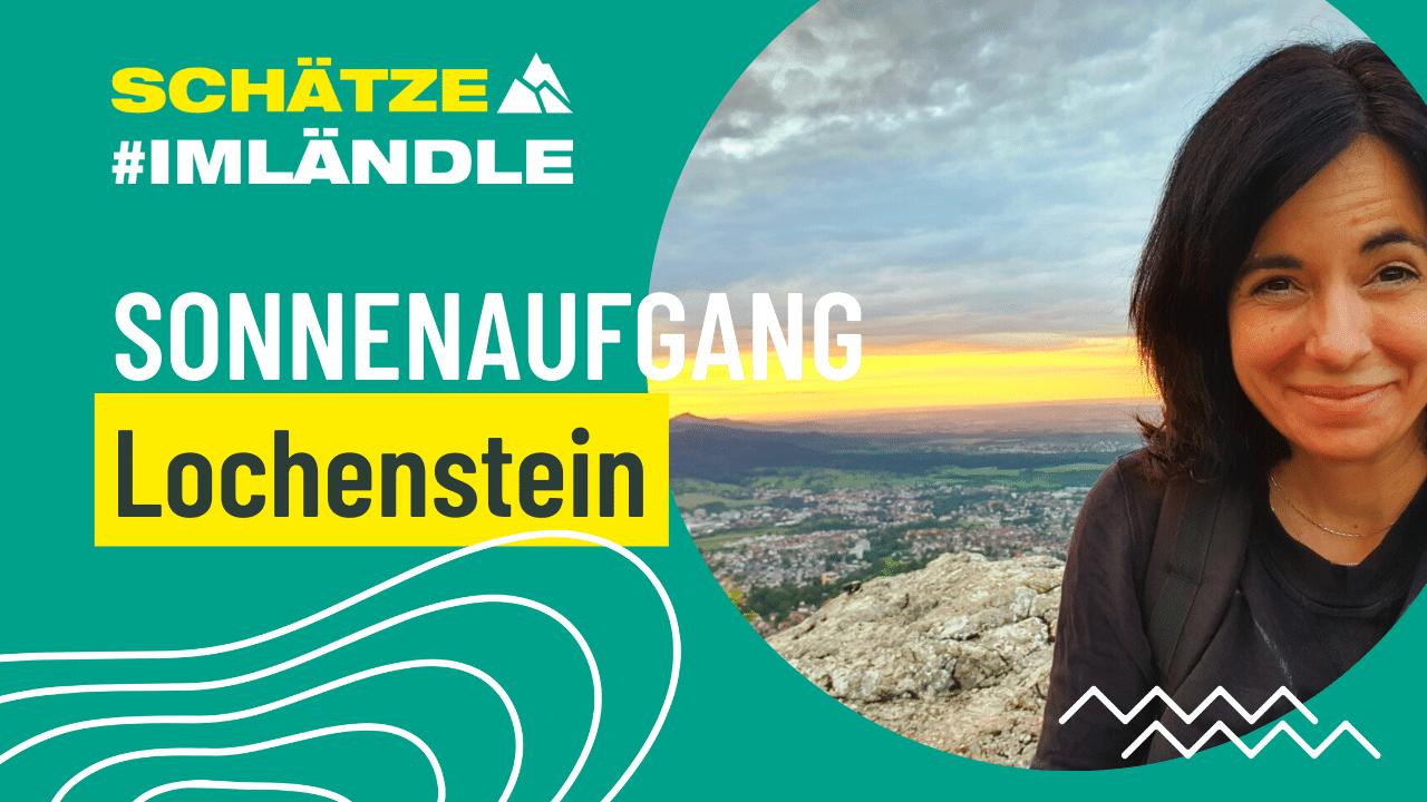 Sonnenaufgang am Lochenstein