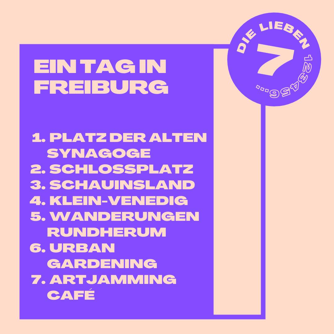 Sieben Tipps für einen Ausflug nach Freiburg
