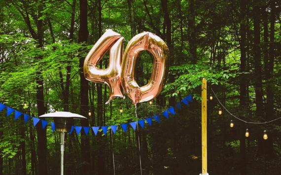 Vierzig ist das neue Dreißig