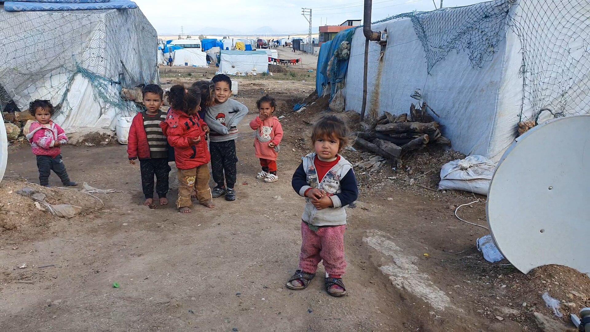 hilfe an der syrischen Grenze