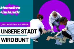 """Unsere Stadt wird bunt – Die Aktion """"Freundliches Balingen"""""""