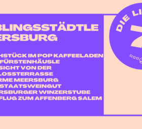 Meine Lieblingsstadt am Bodensee: Meersburg