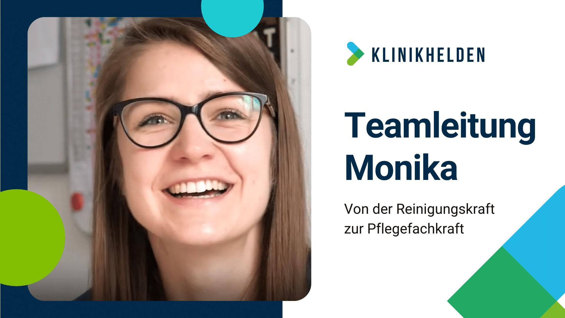 Von der Reinigungskraft zur Pflegefachkraft – Teamleitung Monika